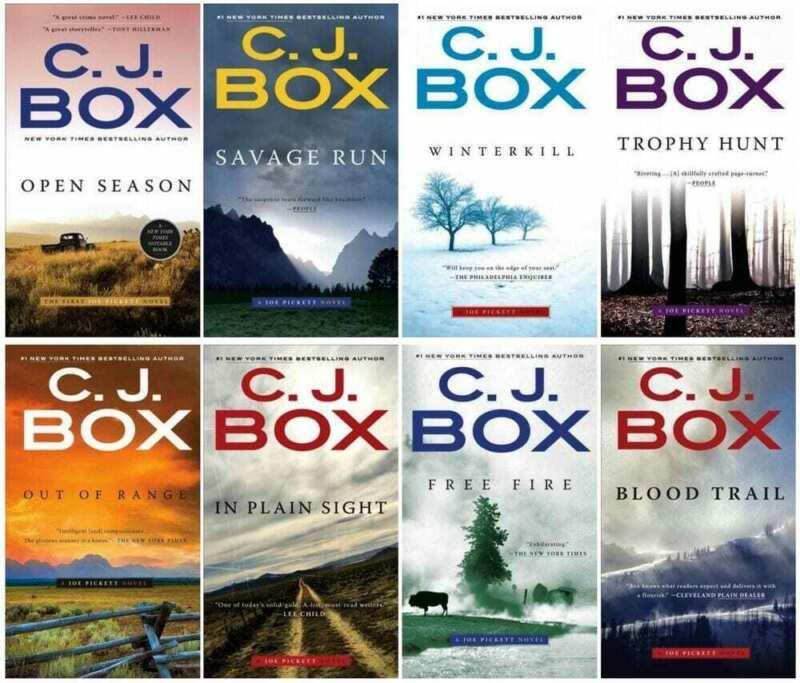 A Joe Pickett Novel (19 book series) by C. J. Box (EB0K&  E-MAILED) #8