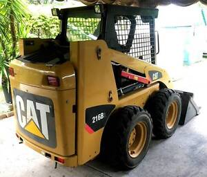 SOLD pending final payment - Cat 216B3 skid steer (215 hours) Darra Brisbane South West Preview