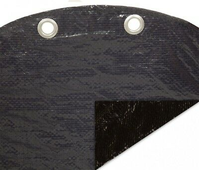 Deluxe 18' x 33' Oval Blue/Black Above Ground Pool Winter Cover