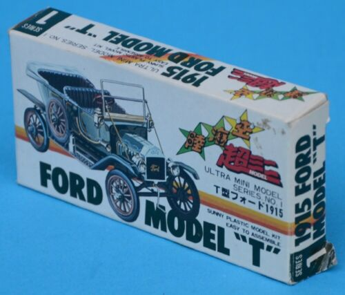 "R&L Korean copy VINTAGE CARS - 1915 Ford Model ""T"" - MIB boxed"