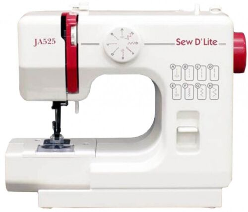 JANOME Compact Electric Sewing Machine Sew D `Lite JA525 AC1