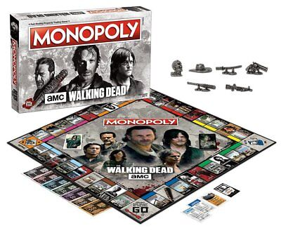 The Walking Dead Monopoly Board Game for sale  Shipping to South Africa