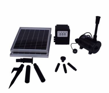 Day/Night Solar POND WATER FOUNTAIN Feature PUMP Battery 1500LPH