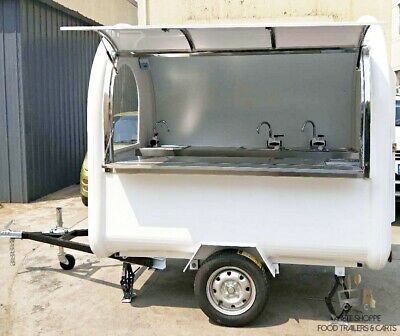 Mobile Food Cart Trailer - Ce Certified Stainless Steel Customized Food Trucks