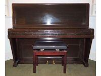 Cramer Upright Piano & Stool