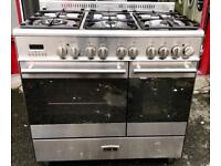 //(%)\ KENWOOD DUAL FUEL RANGE COOKER INCLUDES 6 MONTHS GUARANTEE