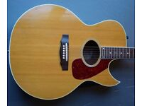 Guild F45-CE vintage electro acoustic guitar, 1984, made in USA