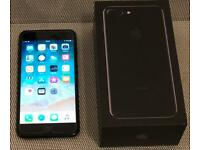 iPhone 7 Plus 128GB Jet Black Unlocked - with all accessories. Absolutely Perfect