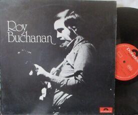 ROY BUCHANAN - Self Titled - UK Polydor 1st press 1972