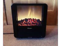 Dimplex Micro-Fire Black Freestanding Electric Stove