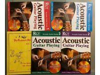 Acoustic Guitar Manuals x 5