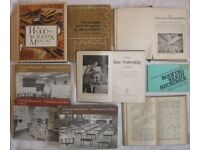 9 Fully Illustrated Carpentry & Joinery Books and Vintage Manuals
