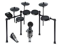 Alesis nitro kit electronic drum set with 8inch snare 8 inch toms and 10 inch cymbals
