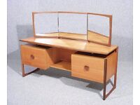 Vintage Retro Teak Dressing Table Desk - Wardrobe also available