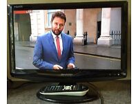 Sharp Aquos LC-19D1E 19 inch Widescreen HD HDMI TV with Digital Freeview Television