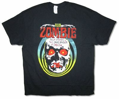 Rob Zombie Dance Partner Is Death Black T Shirt New Official Merch Think It Over