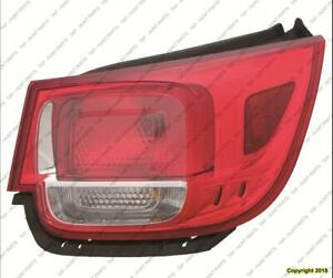 Tail Light Passenger Side Exclude Ltz High Quality Chevrolet Malibu 2013-2015