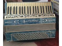 Beautiful accordion. Italian keyboard and buttons. Sell or swop.