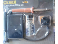 Soldering Iron Set 30W with Stand and Pump