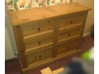 4.2 Large Wooden Dresser (w/ large drawers)