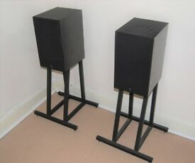 Arcam Delta 2 speakers and Arcam ST3 stands - Classic English Hi-fi - Very Rare!