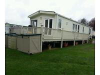 **A TRULY ** BEAUTIFUL IMMACULATE MOBILE HOME/CHALET 40 X 14.**NORTHUMBERLAND **