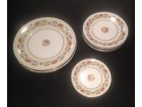 "Aynsley China ""Banquet"" 13 Pieces"