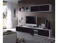 Aida TV Media Wall Unit - Living room furniture set