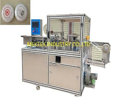 Auto Round Soap Urinal Block Tea Cake Pleated Packing Wrapping Machine wrapper for sale  Shipping to Nigeria