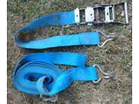 Trailer straps...For Boat Dinghy Tender or others......See all photos attached