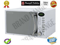 ***NEW***Russell-Hobbs-RHM1714WC-17-Litre-Heritage-White-Digital-Microwave 700W