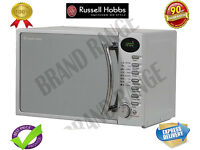 ***NEW***Russell Hobbs RHM1714SC 17 Litre Heritage Silver Digital Microwave