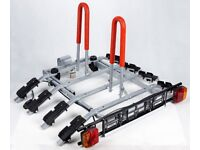 New Titan Giro 2/3/4 Cycles Carriers / Cycle Rack w. Tilting towbar tow ball platform bike carrier