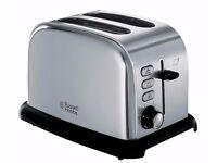 Russell Hobbs 21450 2 Slice Toaster - Stainless Steel.