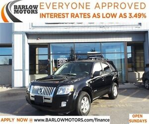 2008 Mercury Mariner 4WD*EVERYONE APPROVED* APPLY NOW DRIVE NOW.