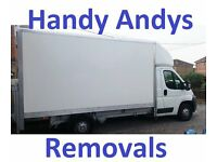 Handy Andys Man and Van Removal Service / Delivery & Removals ------- & home flat office southampton