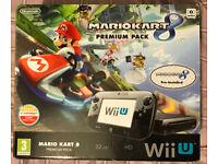 Wii U, Mariokart 8, Premium Pack 32GB