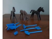 Playmobil HORSES & FARM TOOLS