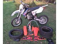 KTM 85 SX Small Wheel SW17/14 2010 MX Motocross Bike & Spares Package. Great Condition
