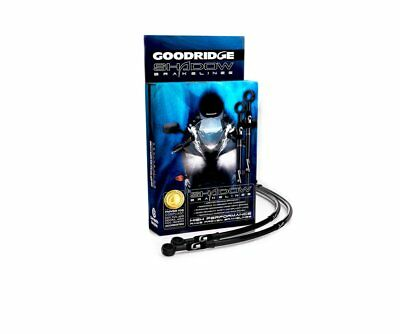 GOODRIDGE FRONT BRAKE HOSE KIT FOR TRIUMPH TRIDENT 750900 91 98 TR07