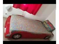 Kids single car bed frame