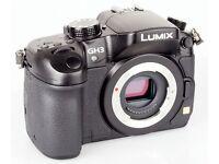 Brand new in box Panasonic Lumix GH3 body