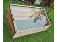 Large coldframe/greenhouse