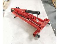 as new Clarke CFC100 folding workshop crane