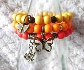 Lovely handmade bracelets