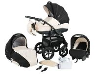 Zipy pram pushchair Travel System 3in1 from Baby Merc