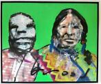 "Herman Brood - Origineel schilderij - ""Indian Duo"""
