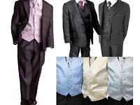 Designer Boys 5 Piece 4 Piece Party Wedding Page Boys Suits Wholesale Clearance