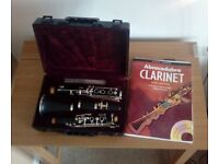 Blessing clarinet in case with music book ideal for beginner