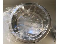Stainless steel round inset kitchen sink *NEW*